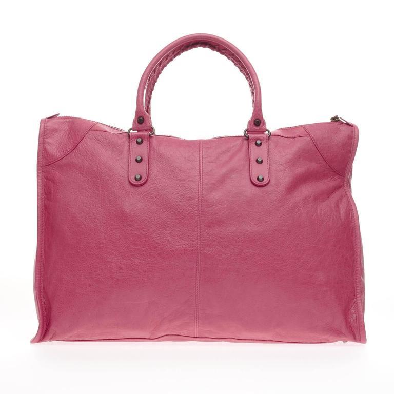 Balenciaga Weekender Classic Studs Leather  4