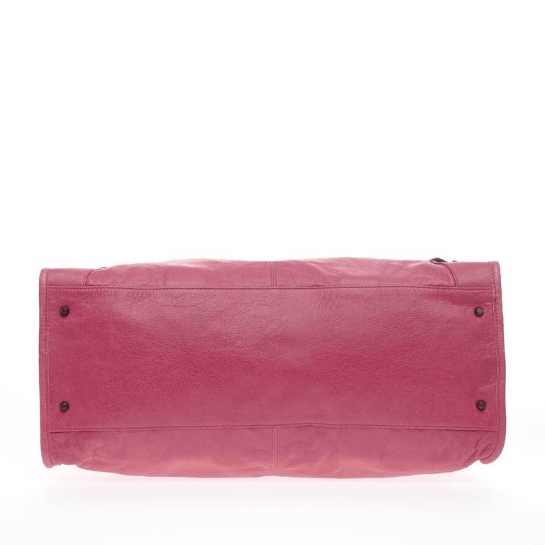 Balenciaga Weekender Classic Studs Leather  5