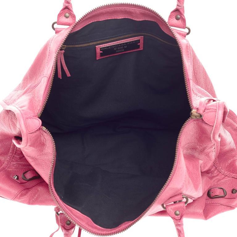 Balenciaga Weekender Classic Studs Leather  6