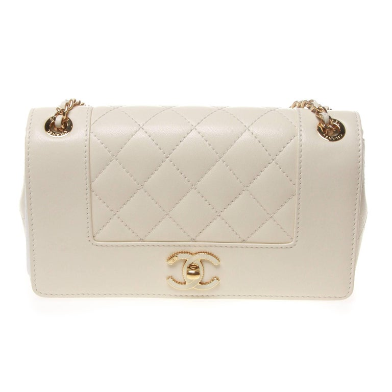 CHANEL Mademoiselle Vintage Flap Bag at 1stdibs 2db1ccc9aa
