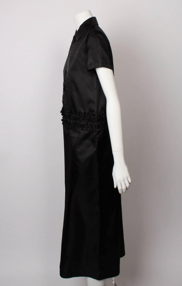 Comme des Garcons  Tricot 2 Piece Ruffle Dress  In Excellent Condition For Sale In Melbourne, AU
