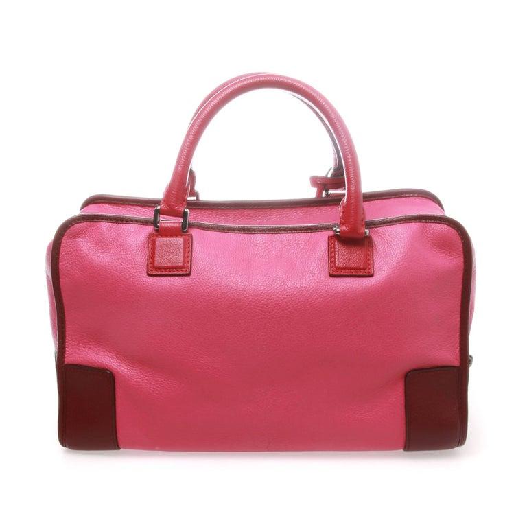 Pink Loewe Amazona 36 Bag For Sale