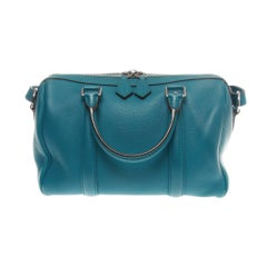 Louis Vuitton Bleu Canard SC BB Veau Cachemire Bag