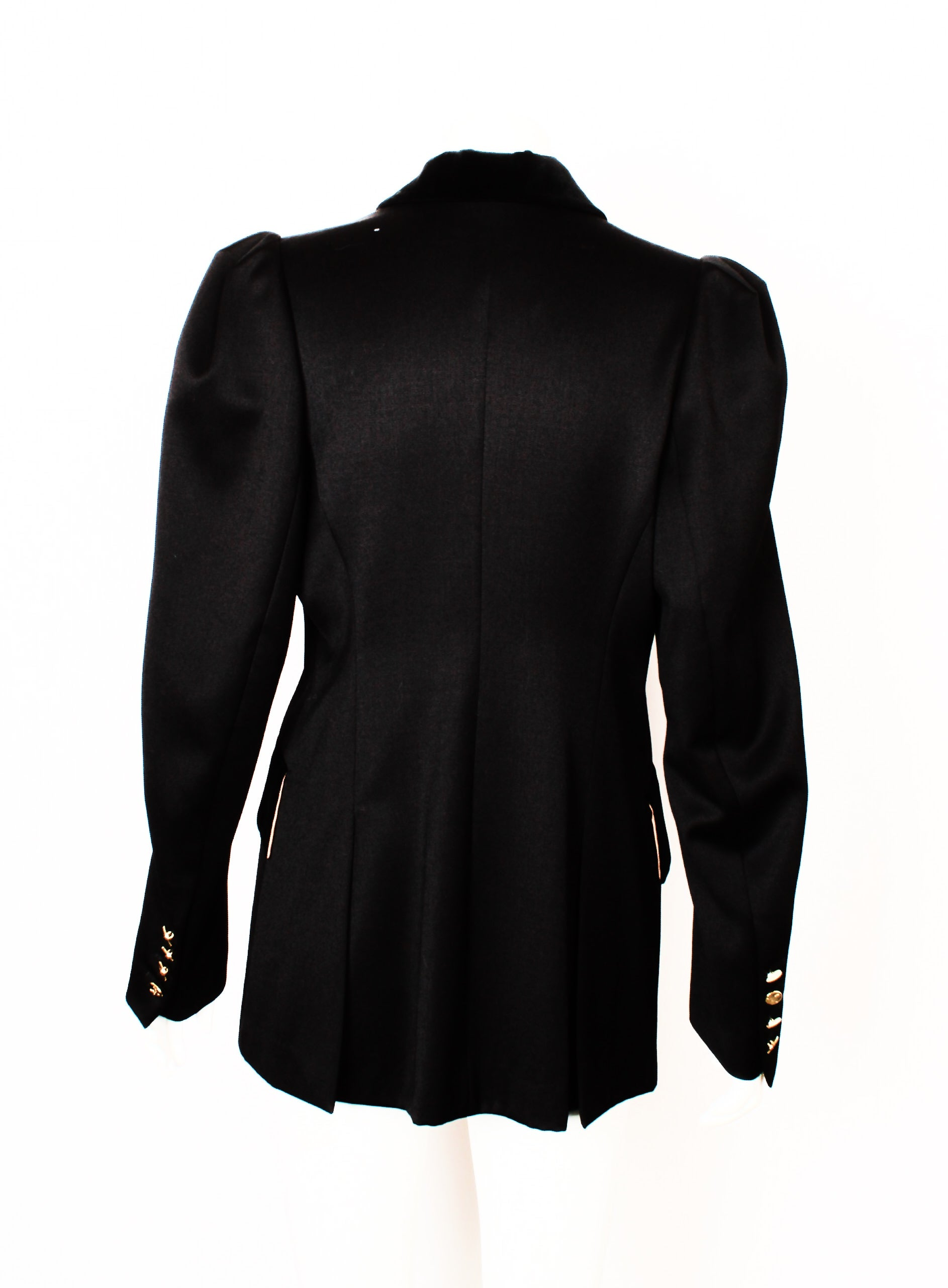 1a5a5a12bb6d Vivienne Westwood Black Double Breasted Jacket