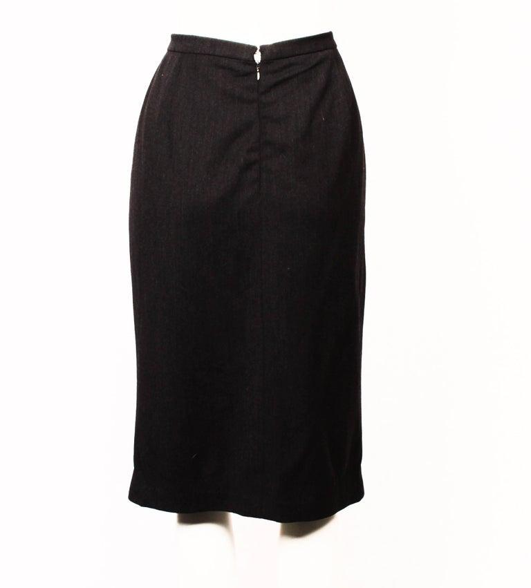 Chanel Boutique Pencil Skirt In Fair Condition For Sale In Melbourne, Victoria