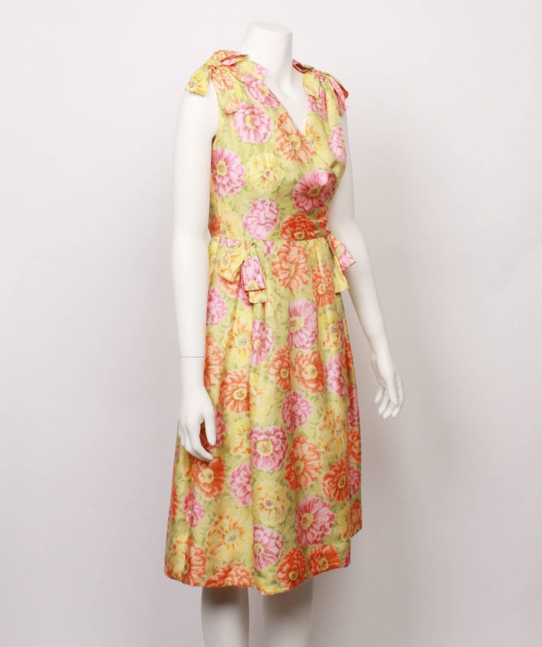 Christian Dior Demi Couture Party Dress, 1960s  In Good Condition For Sale In Melbourne, Victoria