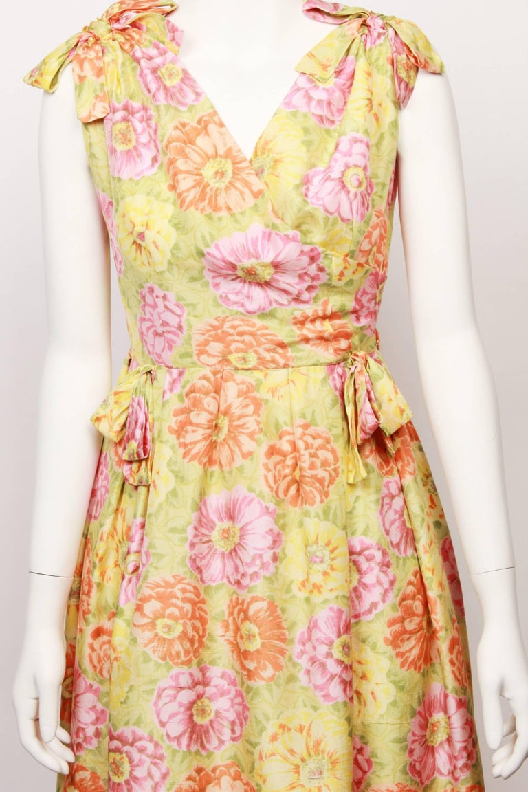 Women's Christian Dior Demi Couture Party Dress, 1960s  For Sale