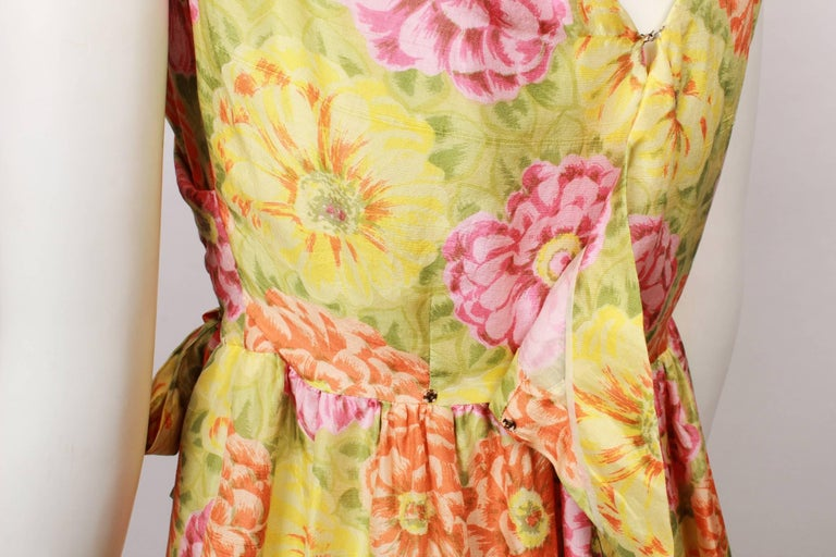 Christian Dior Demi Couture Party Dress, 1960s  For Sale 1
