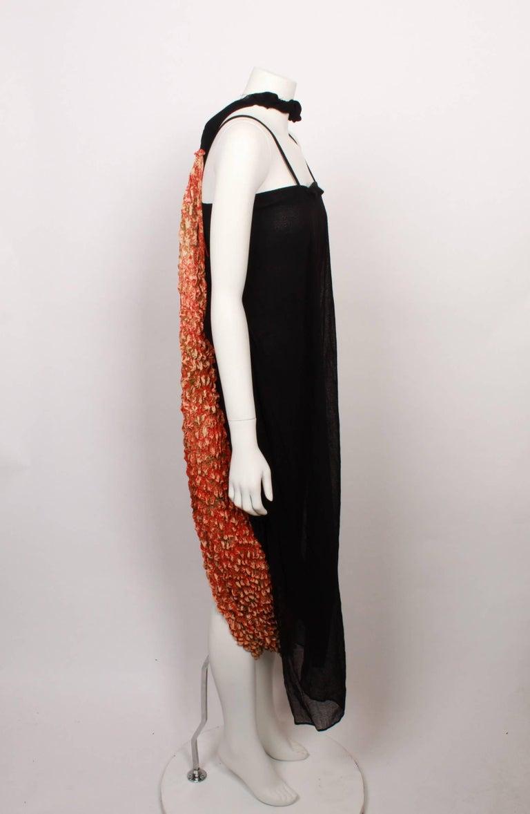 Brown Yohji Yamamoto Origami Dress For Sale