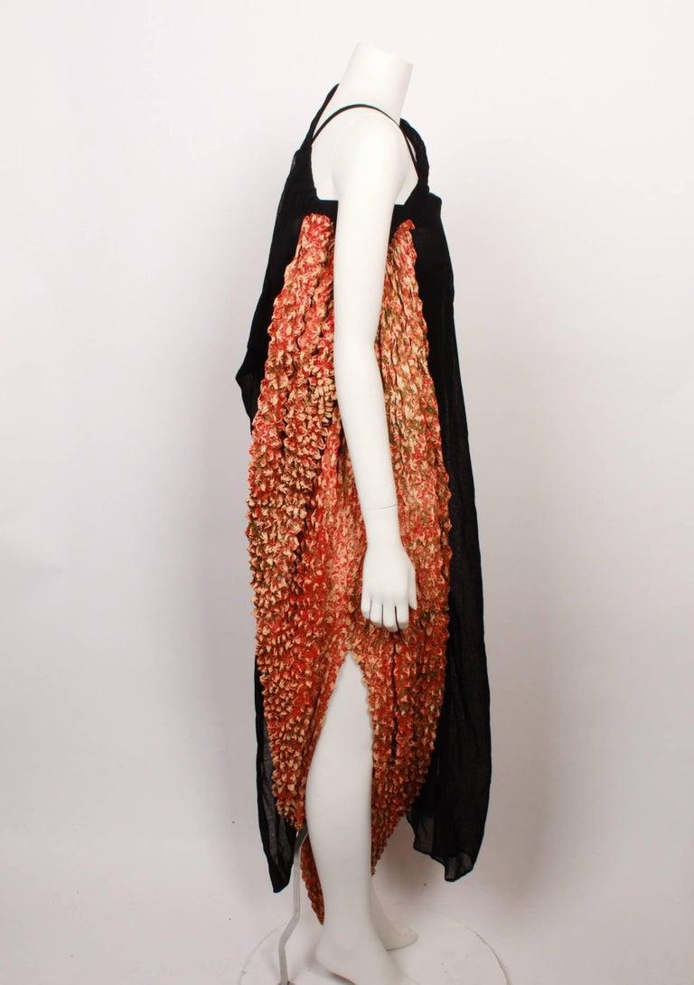 Yohji Yamamoto Origami Dress In Good Condition For Sale In Melbourne, Victoria