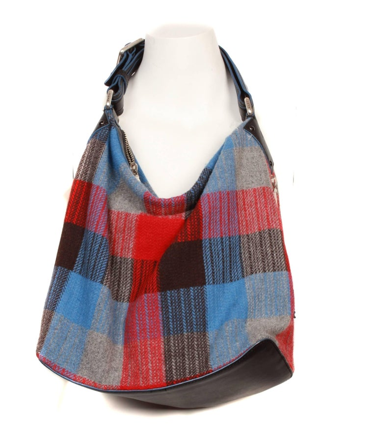Marc Jacobs Checked Wrap Coat & Matching Bag For Sale 1