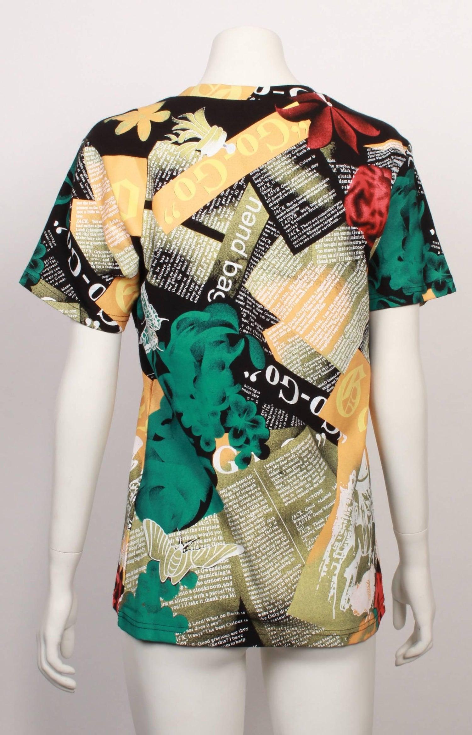 ffb75bf4 John Galliano Beachwear T-Shirt For Sale at 1stdibs