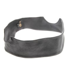 Ann Demeulemeester Leather Head Band