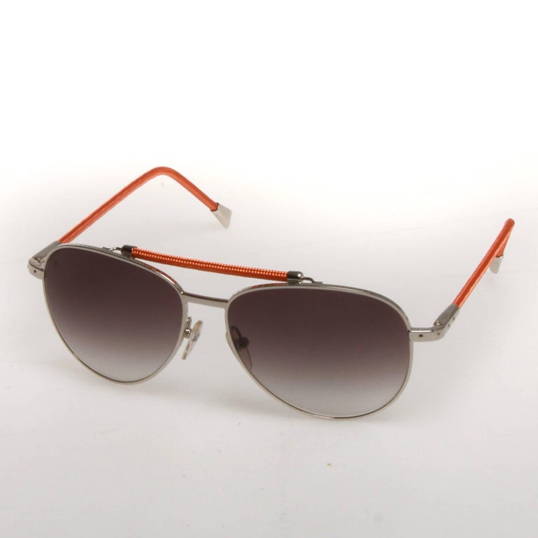 421ef9e5c0 Brown Louis Vuitton Conspiration Pilote Aviator Sunglasses For Sale