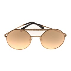 Chanel rose gold sunglasses