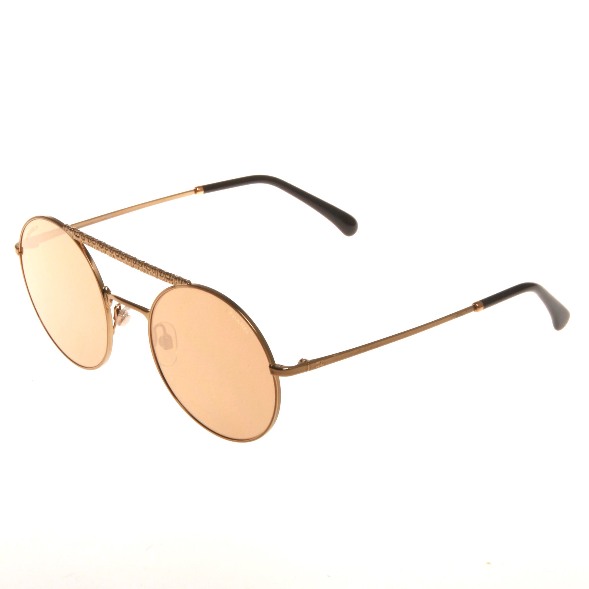 296c69767d7e9 Chanel rose gold sunglasses at 1stdibs