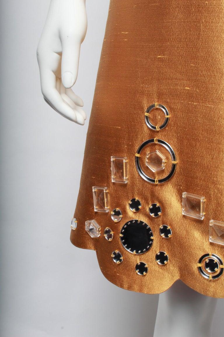 Women's or Men's Miu Miu Gold Party Dress For Sale