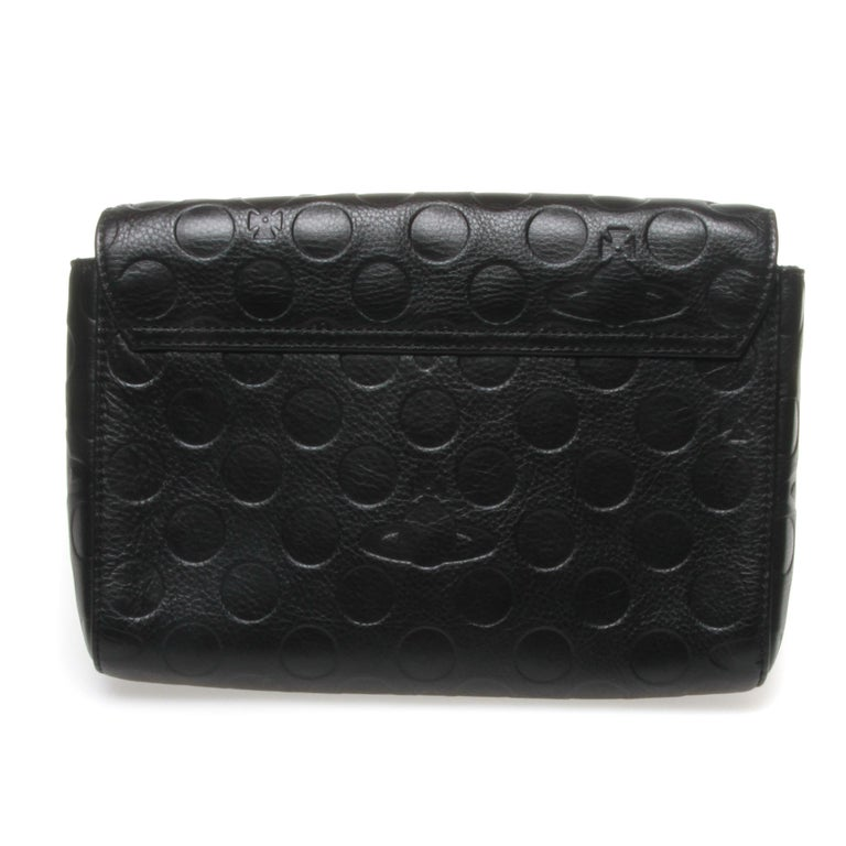 Black Vivienne Westwood clutch For Sale
