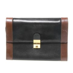 Bally leather Clutch
