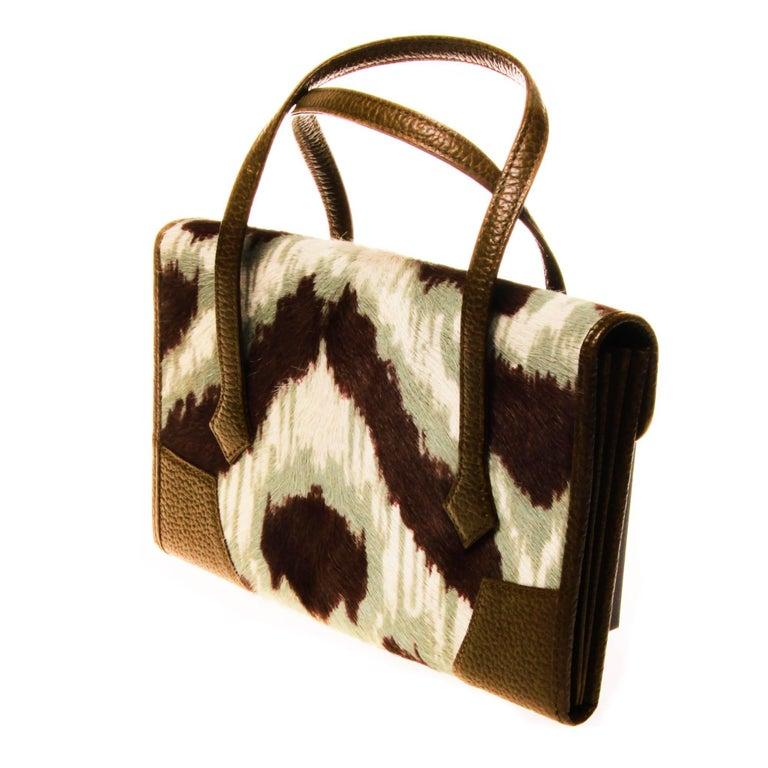 Women's or Men's Vivienne Westwood Ponyhair Wallet Handbag For Sale