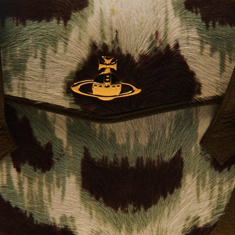 Vivienne Westwood Ponyhair Wallet Handbag For Sale 1
