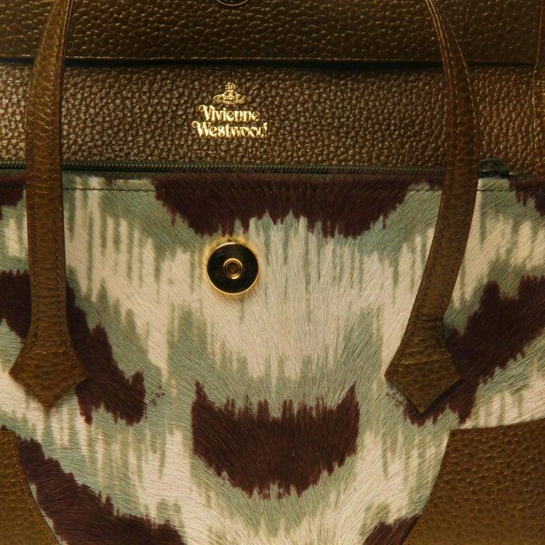 Vivienne Westwood Ponyhair Wallet Handbag For Sale 2