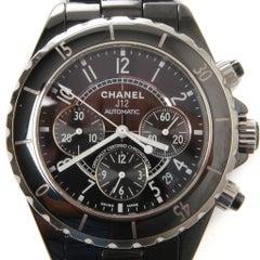 Chanel J12 Ceramic 38mm Automatic Black Watch