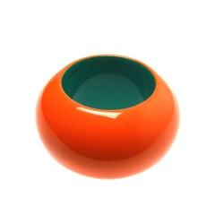 Hermes iconic orange resin cuff