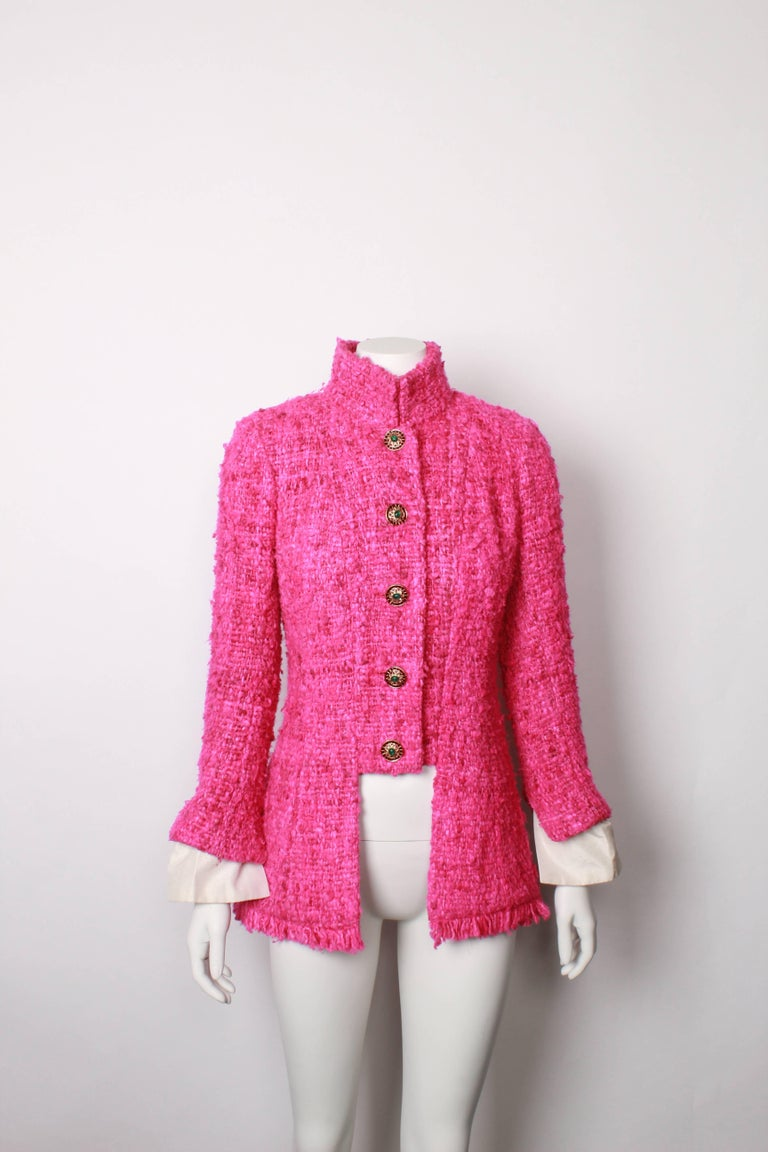 Chanel Maharaja Tweed Jacket, 2012  In Good Condition For Sale In Melbourne, AU