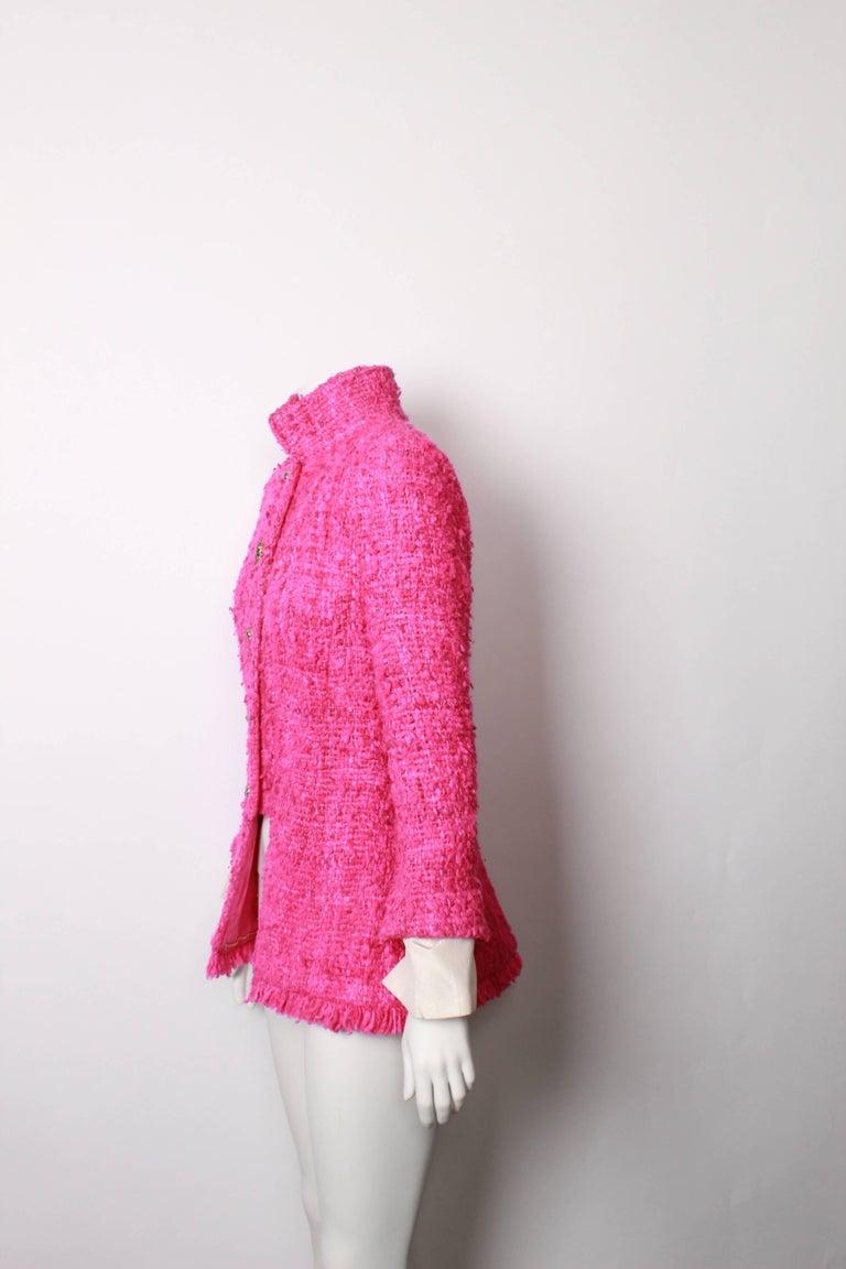 Women's Chanel Maharaja Tweed Jacket, 2012  For Sale