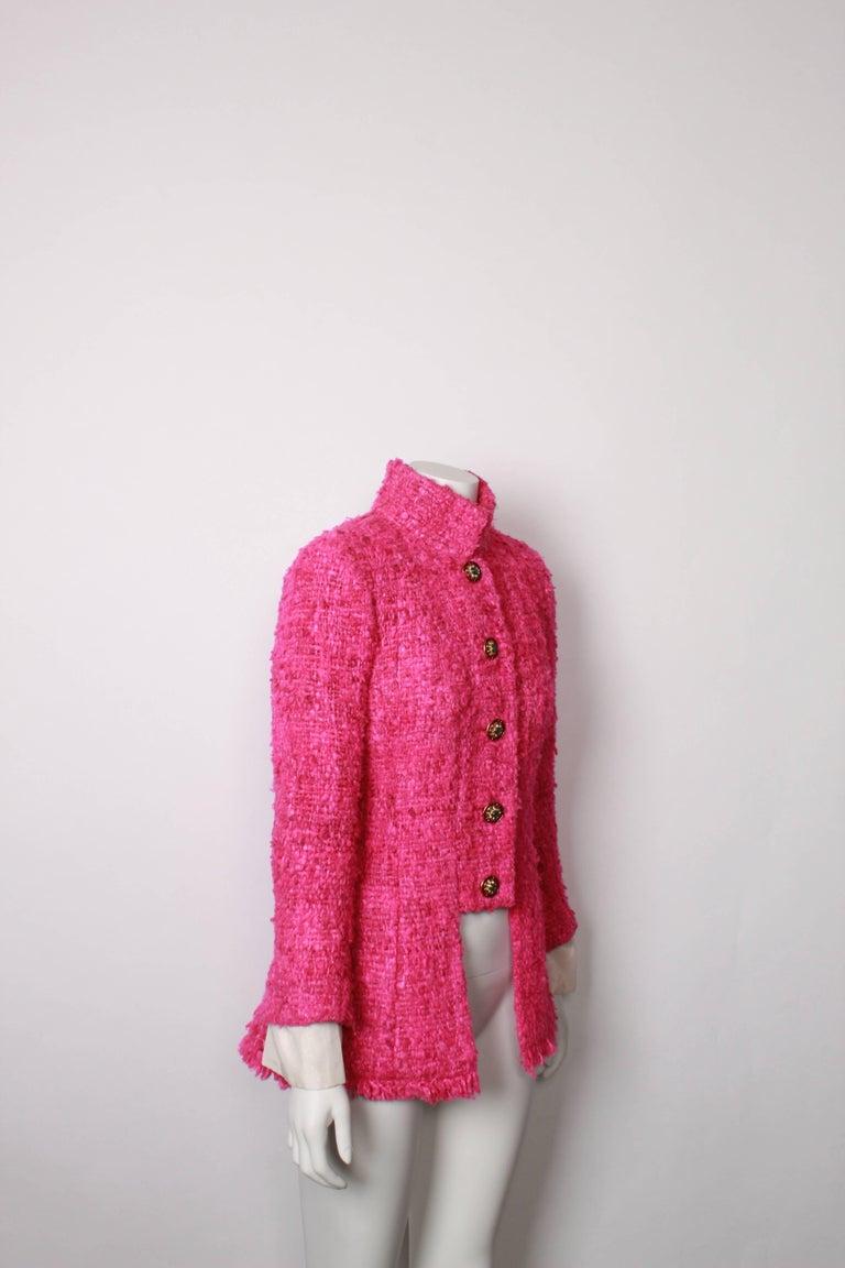 Chanel Maharaja Tweed Jacket, 2012  For Sale 2