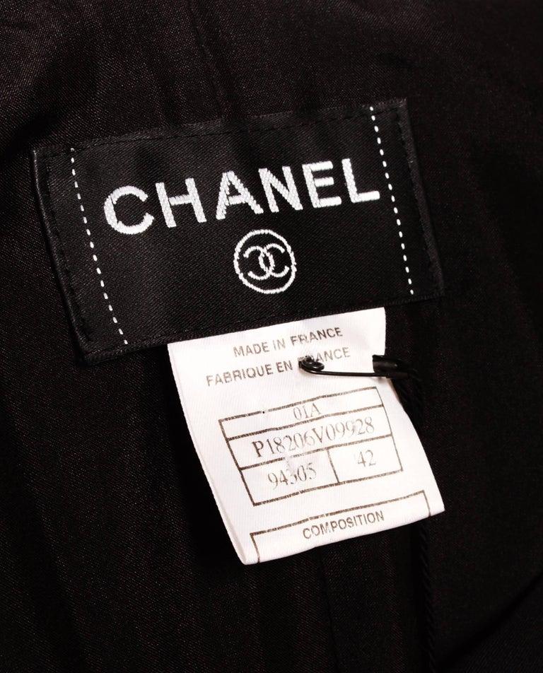Chanel Little Black Dress For Sale 2