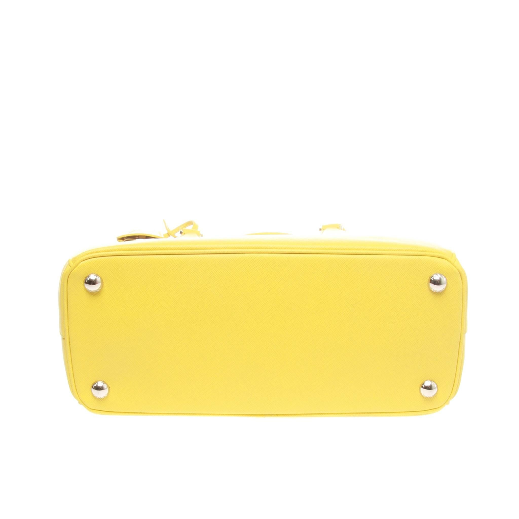 ... get womens or mens prada yellow saffiano lux galleria shopping bag for  sale b1c3a 74022 25f78432fce03