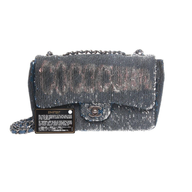 Chanel Cruise 2017 COCOCUBA Sequin Flap Bag In Excellent Condition For Sale In Melbourne, Victoria