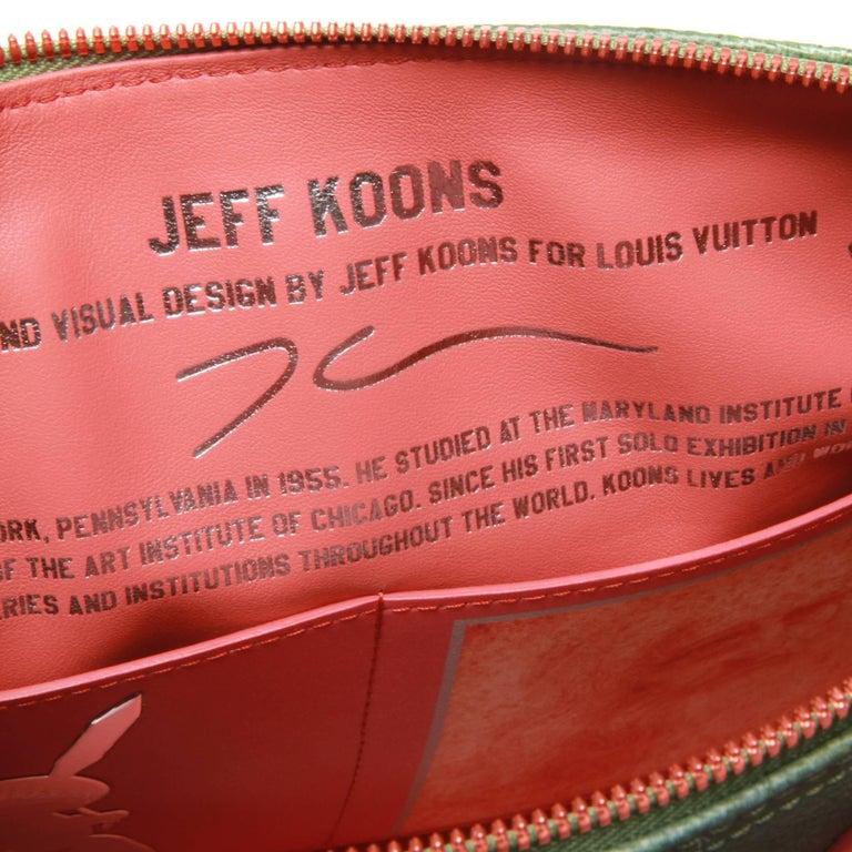 Women's or Men's Louis Vuitton LV X Koons Masters Da Vinci Speedy 30 Bag For Sale
