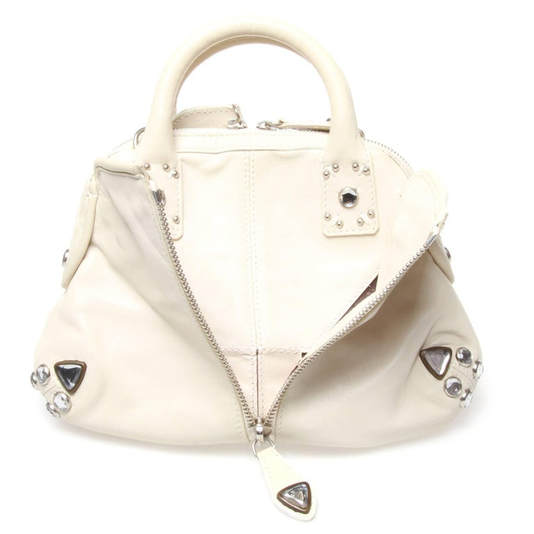 Women's or Men's Sonia Rykiel White Handbag For Sale