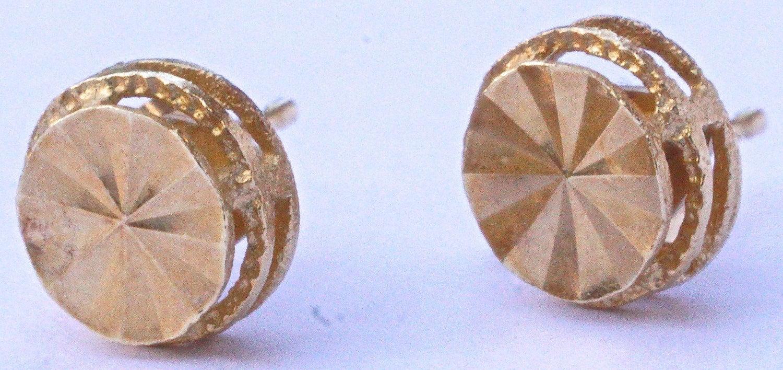 Ohrstecker Gold Hills Diamanten Mit 14 Karat Beverly Aus IYEDHW29