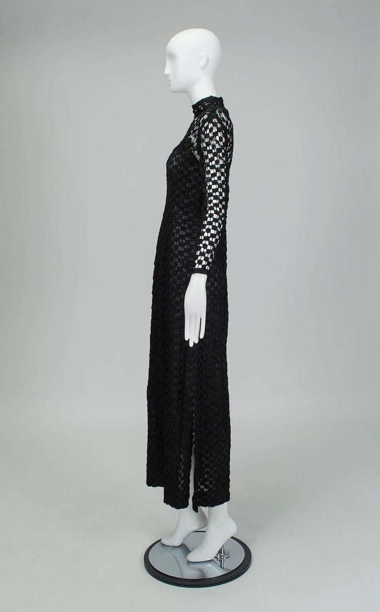 2b58e21e095a Nearly identical to the louche white crochet maxi dress made famous by Jane  Birkin, this
