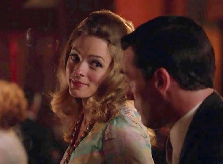 J Magnin Palazzo Jumpsuit and Jeweled Tunic - Mad Men Season 5, 1960s For Sale 4