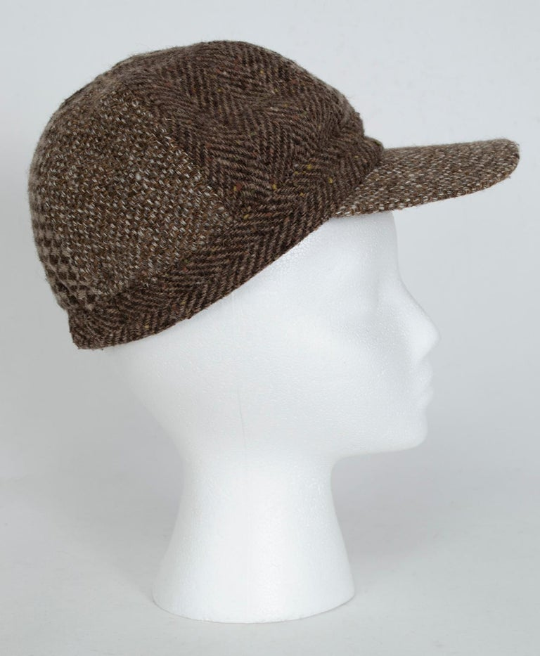 An easy upgrade for your weekend wardrobe, this is the accessory that makes all outfits suddenly cuter.  Wearable anywhere, these hats had been men's wardrobe staples since the 20s until Edie Sedgewick adopted them for the girls' team in the