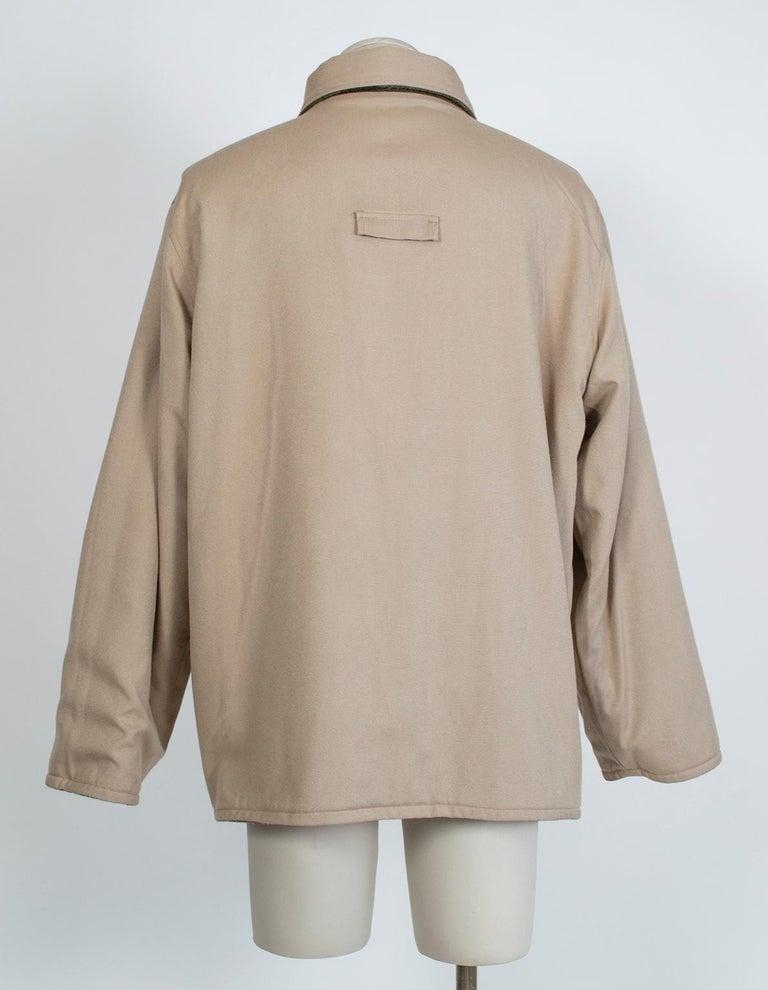 Men's LL Bean Reversible Plaid Field Jacket, 1980s For Sale 3