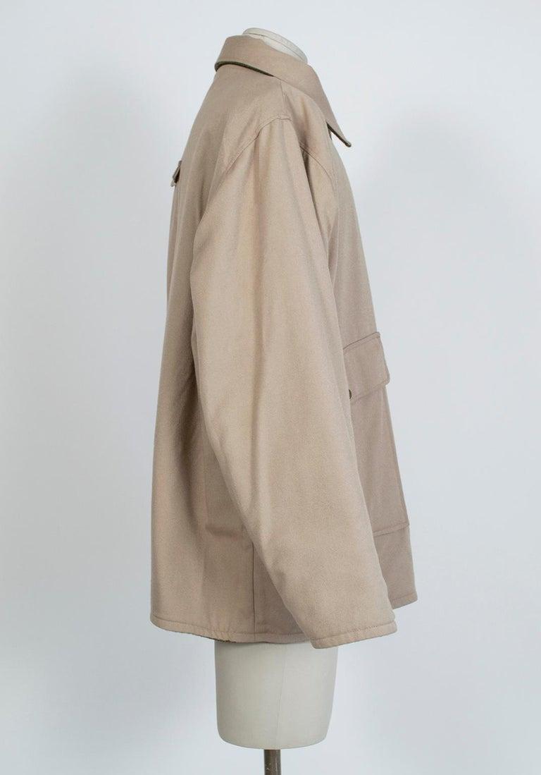 Men's LL Bean Reversible Plaid Field Jacket, 1980s For Sale 1