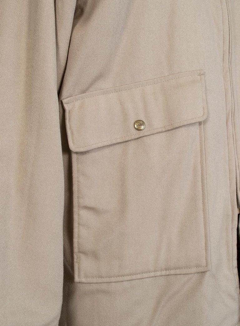 Men's LL Bean Reversible Plaid Field Jacket, 1980s For Sale 9