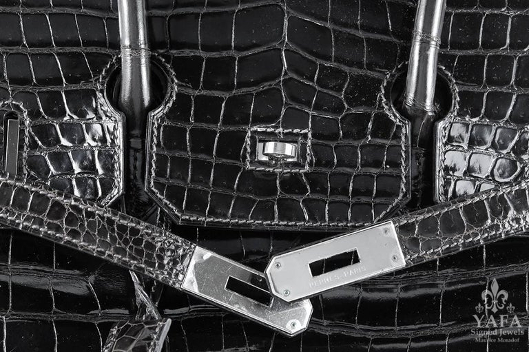 62a657bc8ca Women s Hermes 30cm Black Birkin Bag For Sale
