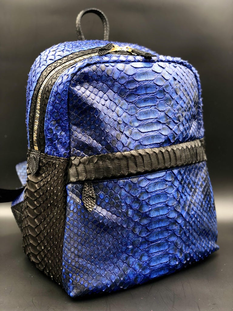 Ana Switzerland Python Backpack  For Sale 1