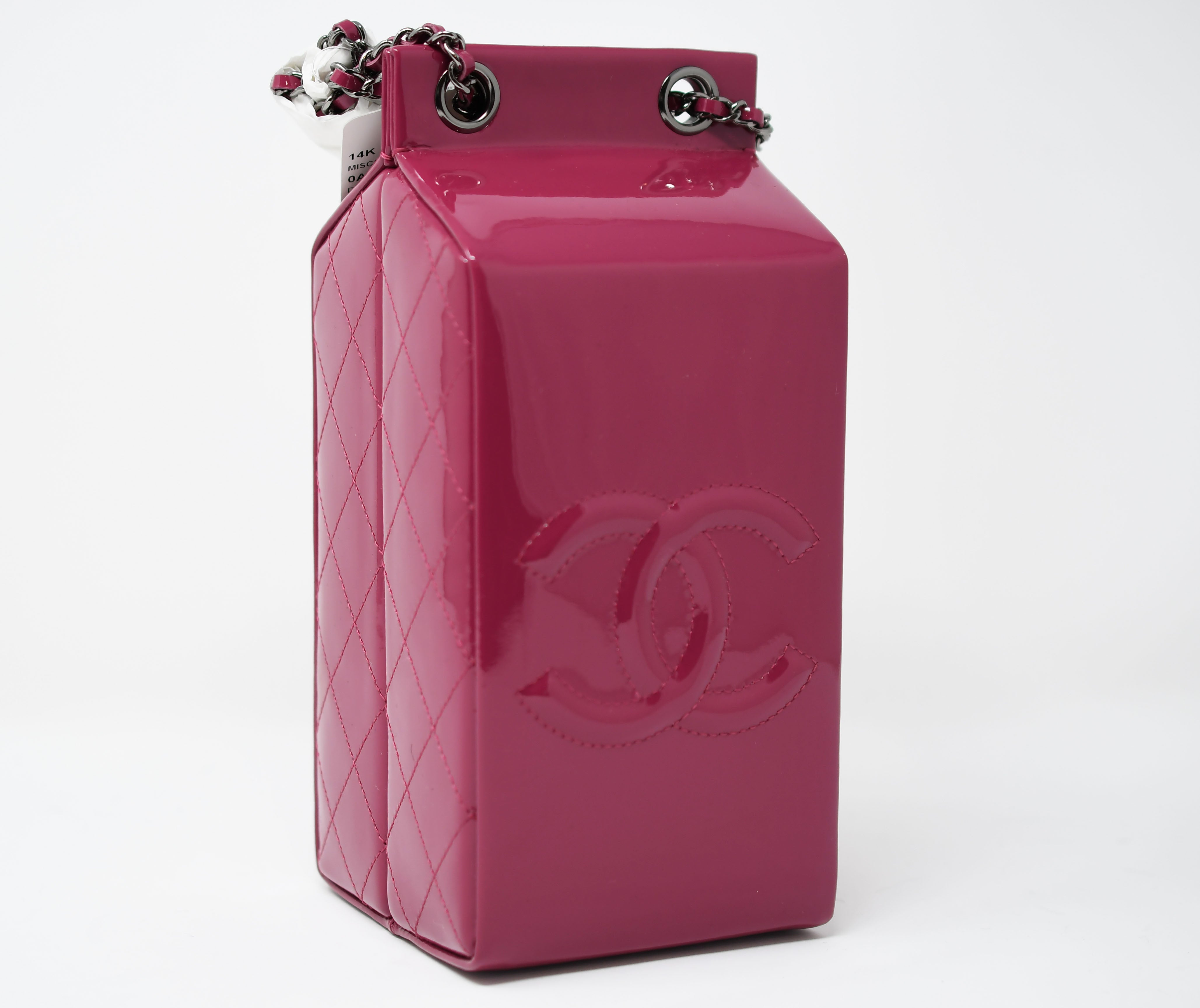 bb24a9a35ac4 Chanel Milk Carton Bag For Sale at 1stdibs