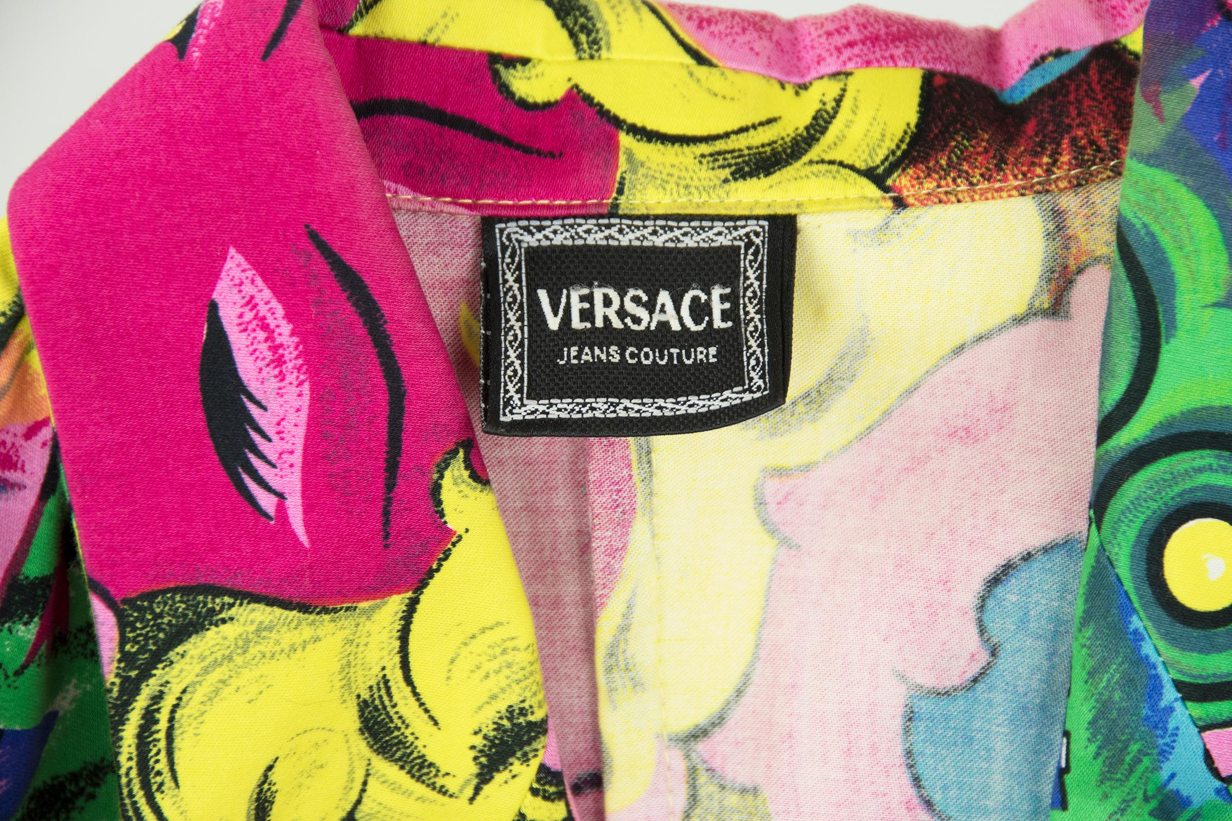 Versace Vintage Betty Boop and Marilyn Monroe Two Piece Suit For ...