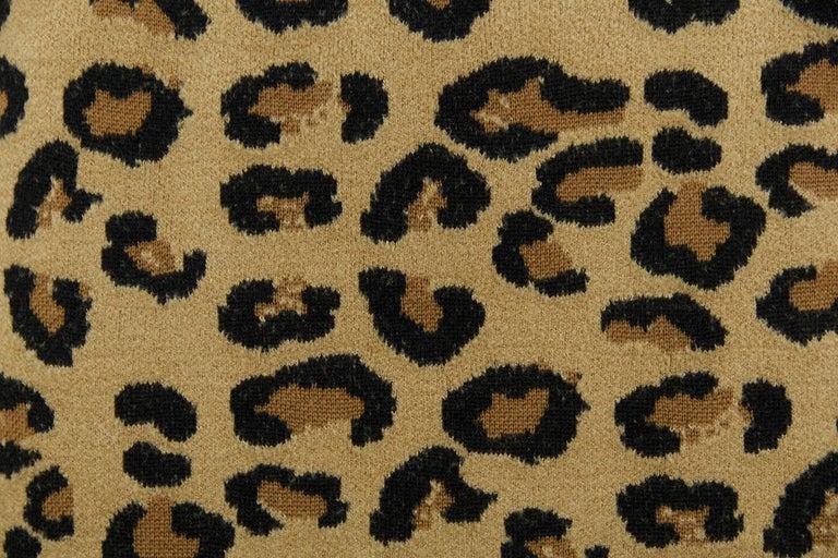 Women's Alaia Vintage Leopard Pencil Skirt 1991 - Size S For Sale