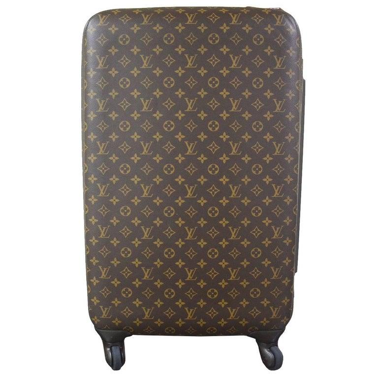 61997bcfd38c Louis Vuitton Zephyr 70 Monogram Canvas Travel Rolling Luggage Suitcase For  Sale