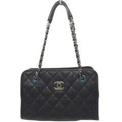 Chanel Black Caviar Small Shoulder Bag